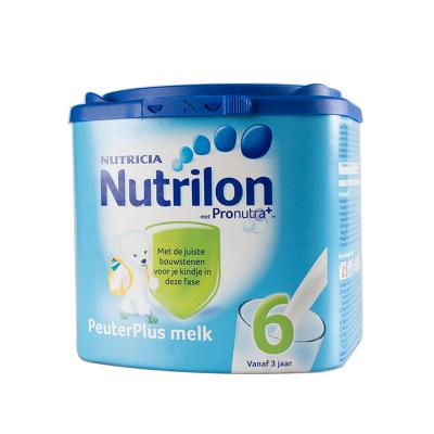 【保稅區發貨】荷蘭牛欄 諾優能荷蘭版 Nutrilon海外 兒童配方奶粉易樂罐 6段 800g/罐 乳糖配方