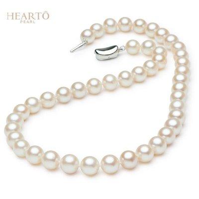 海瞳 正圓 淡水珍珠項鏈 大氣款 10-11mm 珍珠項鏈 送長輩送媽媽