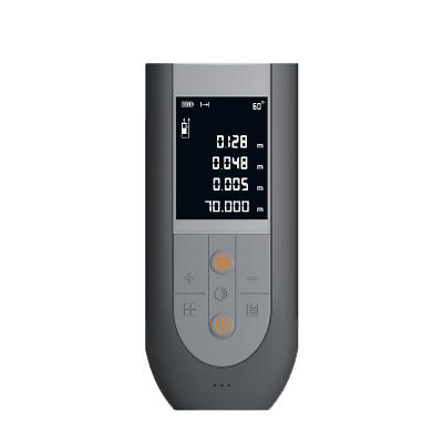 吉米家居 JM-G25370S 激光测距仪70米手持式语音充电红外线测量仪家用电子尺智能量房尺测量工具