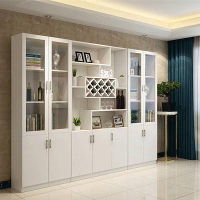 長沙簡約現代酒柜定制家用整體餐邊柜櫥柜組合多功能柜子定做