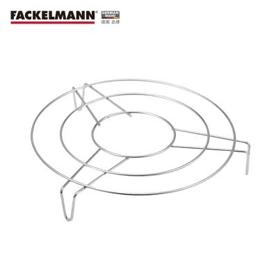 德国Fackelmann 法克曼不锈钢蒸架 20CMX3.3CM 5212481