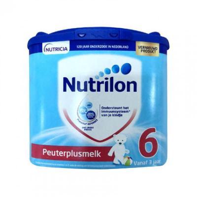 【國外直郵】荷蘭牛欄諾優能(Nutrilon)奶粉 6段(3周歲以上)400g 每單6罐發貨 【海外直郵】