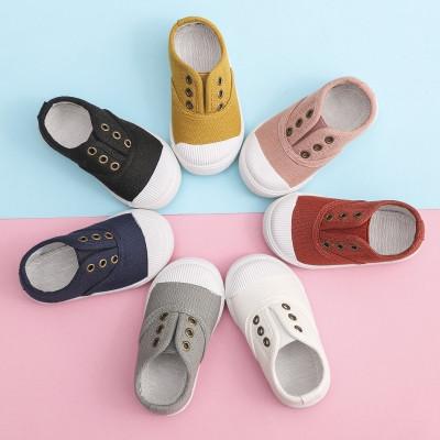 莎丞 春夏婴儿布鞋儿童帆布鞋男童女童球鞋宝宝鞋子小童软底板鞋1-3岁