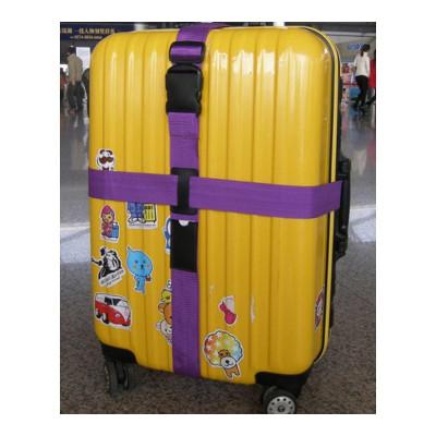 旅行箱綁帶新款 十字行李箱打包帶旅行箱出國行李箱拉桿箱綁帶 行李打包帶尤柯鳥(yoekbird) 箱包配件