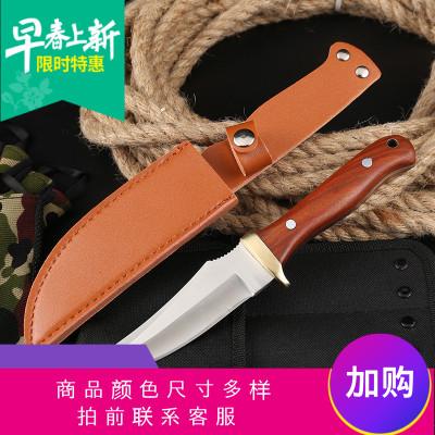 定制   戶外刀具防身軍工短刀野外求生高硬度開刃特種兵鋒利小刀隨身軍刀