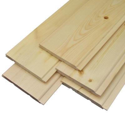 桑拿板免漆實木扣板樟子松陽臺吊頂松木杉木隔墻裝飾板墻裙護墻板 一平米