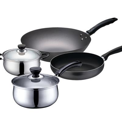蘇泊爾SUPOR全能經典豪華廚房五件套組合裝VTP2005-四件套