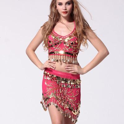 飛魅 印度女裝套裝成人 新款成人吊帶蝴蝶短裙兩件套裝