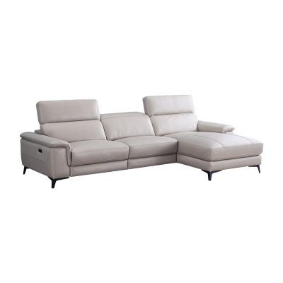 科智乐智能真牛皮沙发组合WISE 右躺位米黄