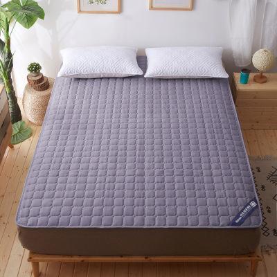 【精品好貨】純色磨毛床墊防滑保護榻榻米床褥子家用床上用品