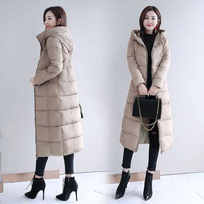 芷臻zhizhen棉袄女2019新款反季棉服女冬季外套女加厚冬装长款棉衣长过膝