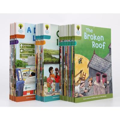 牛津樹閱讀tree7-9階40冊兒童英語分級繪本兒童啟蒙英語贈音頻視頻