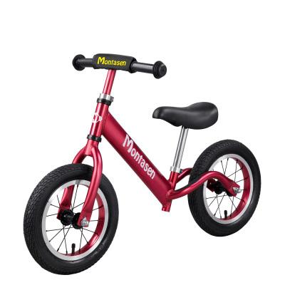 萌大圣 /Montasen 兒童平衡車自行車兩輪踏行車2-3-6歲滑行車寶寶滑步車無腳踏單車 小飛俠 高配 12