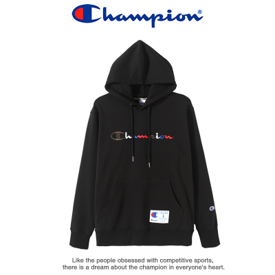 Champion冠軍男衛衣 情侶款套頭衫 連帽運動衛衣男裝 2020新款春秋裝毛圈 9046