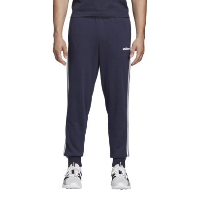 阿迪達斯(adidas) 男子運動休閑束腳收口跑步訓練長褲DU0478