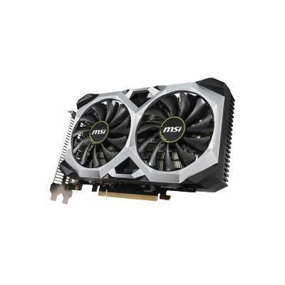 微星(MSI)万图师XS GeForce RTX 2060 VENTUS XS C 6G OCV1 GDDR6 电脑游戏电竞ITX小卡显卡