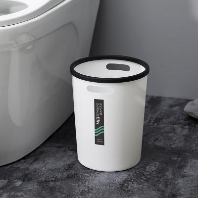 蘇寧放心購家用垃圾桶分類廚房客廳衛生間辦公室無蓋簡約垃圾筒大小號紙簍時度(Doxa)