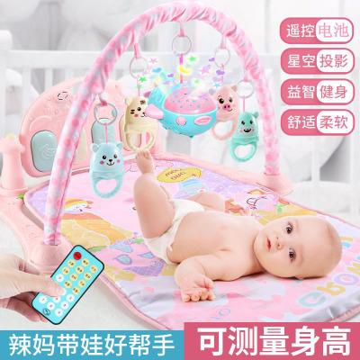 【蘇寧推薦】床鈴搖鈴新生嬰兒床鈴床頭鈴寶寶床鈴玩具腳踏鋼琴寶寶益智玩具