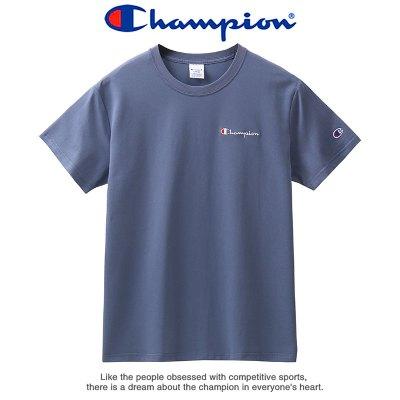 Champion 冠軍夏季潮流圓領短袖運動T恤男士小標刺繡Logo情侶百搭打底衫