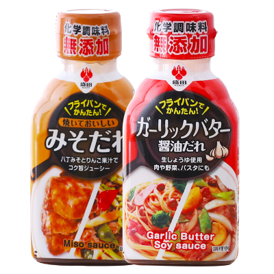 日本進口 盛田八丁味增/大蒜黃油調味汁日式拌飯腌制調味料175g