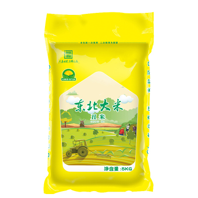 綠農曉鎮東北大米丑米5kg色選米食堂米家庭用米10斤粳米很丑但是很美味