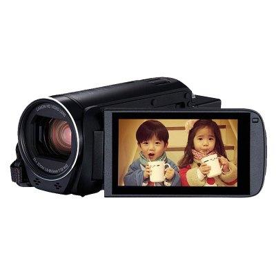 佳能(Canon)HF R86 高清數碼攝像機 智能防抖慢動作會議旅游長焦DV 32倍光學變焦 翻轉觸摸屏WiFi 標配