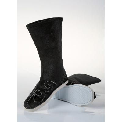 古裝靴子表演出防滑底古風cos漢服戲曲男女中式婚鞋古代官兵布靴