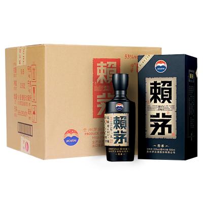 茅台 赖茅 传承蓝 53度 500ml*6 箱装 酱香型 白酒