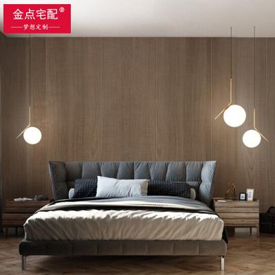 金點宅配全屋定制烤漆免漆護墻板墻裙電視床頭背景墻木飾面裝飾板12mm實木多層板