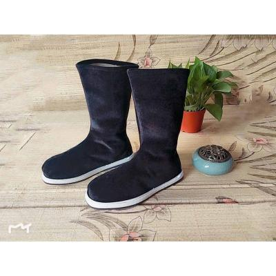 古代鞋子男布靴男漢服靴子古裝鞋子男漢鞋古風漢服男鞋官靴中國風