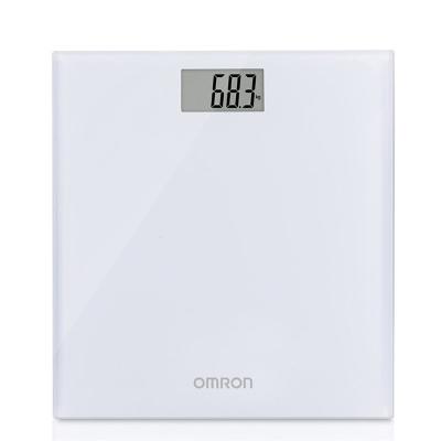 歐姆龍(OMRON)電子體重秤 HN-289W 家用電子秤 薄型鋼化玻璃材質 成人體重計 健康秤器械