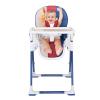 Aing爱音多功能儿童餐椅 可折叠宝宝餐桌婴儿躺椅吃饭餐桌椅