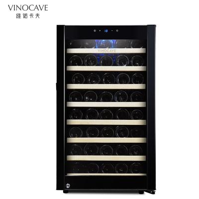 Vinocave/维诺卡夫 CWC-120A 酒柜52支装侧开门压缩机酒柜恒温红酒柜家用冰吧冷藏柜