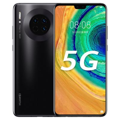 華為/HUAWEI Mate 30 5G 8GB+256GB 亮黑色 麒麟990智慧芯片 4000萬徠卡攝像 OLED全面屏 移動聯通電信5G全網通手機