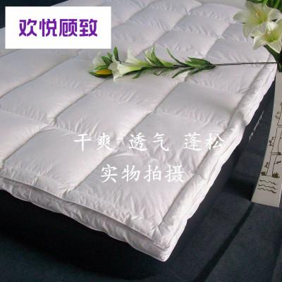 希爾頓五星級酒店羽絨床墊加厚鵝絨床褥1.5m床1.8米床褥子墊被