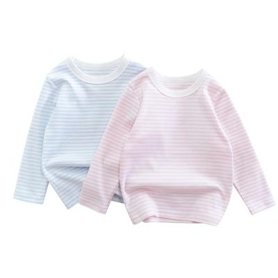 童裝秋款新品2020兒童長袖T恤 兒童服裝男寶寶衣服元氣小猴STRONG MONKEY