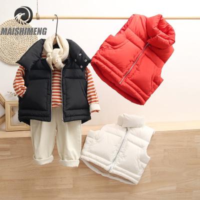 【品牌特賣】2019新款童裝兒童羽絨棉馬甲男童女童外穿馬夾寶寶中小童背心坎肩