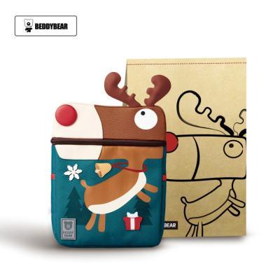 韓版BEDDYBEAR杯具熊兒童幼兒園書包小學生男童女童小孩3-5-8歲雙肩包背包綠色麋鹿書包