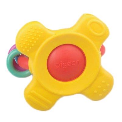 貝親旗艦店 磨牙器 牙床機能訓練器寶寶訓練牙膠黃色7個月以上NA10