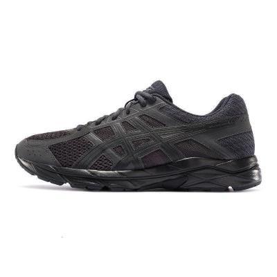 ASICS亞瑟士男子GEL-CONTEND 4緩震跑鞋夜跑運動鞋