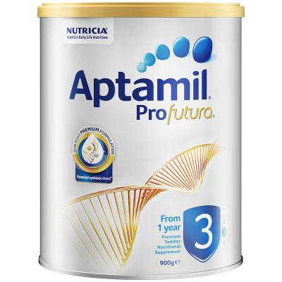【高端配方】澳洲新西兰爱他美白金版幼儿配方奶粉3段(1-3岁) 900g