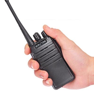堡利斯通BORI TONE BS-6(T12)大功率对讲机 民用1-50公里迷你手台 商用手台 黑色 无屏幕