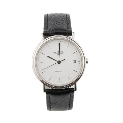 【二手95新】浪琴LONGINES優雅系列L4.721.4.18.2男表自動機械奢侈品鐘手表腕表