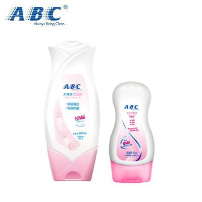 ABC私處洗液200ml 送50ml護理液溫和抑菌 中和異味 女性衛生護理洗液