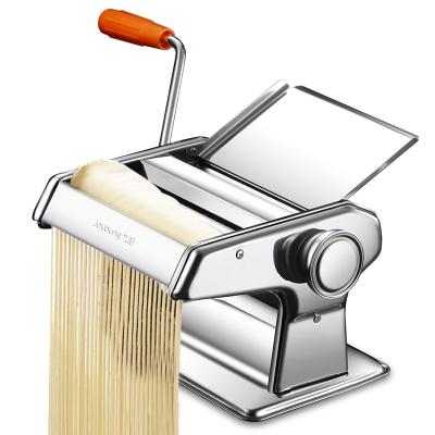 九阳(Joyoung )面条机家用手动不锈钢手摇压面机小型制面切面机饺子皮一体机
