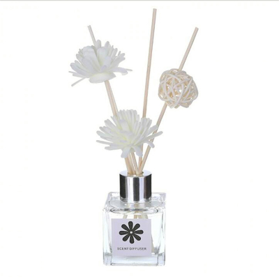 無火香薰精油熏香室內空氣清新劑持久留香房間香水擺件廁所除味玻璃瓶香氛套裝-玫瑰香包 清迅