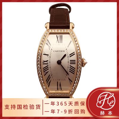 【二手95新】Cartier/卡地亚 手表 女表 龟型系列 18k玫瑰金 后镶钻 39MM 自动机械 WE400451