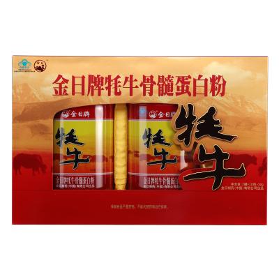 金日 牦牛骨髓蛋白粉 30g/包*10包/罐*2罐 禮盒裝