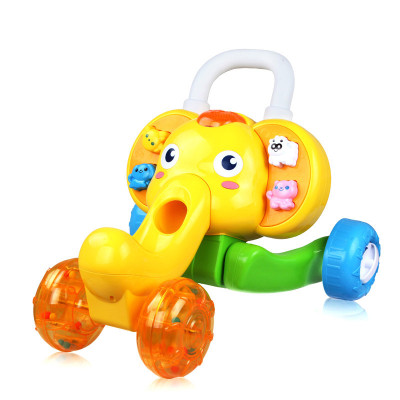 AUBY 澳贝 运动系列 小象学步车婴幼儿益智玩具1-3岁 463322DS