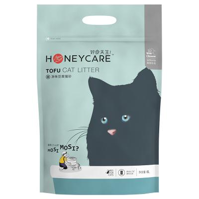 好命天生(Honeycare)猫砂豆腐猫砂6L(2.6Kg)玉米植物猫砂除味结团无尘猫砂可冲厕所